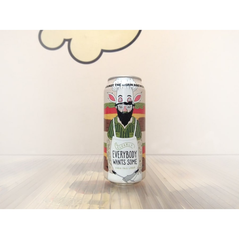 Cerveza Against the Grain Clearly Everybody Wants Some - India Pale Lager