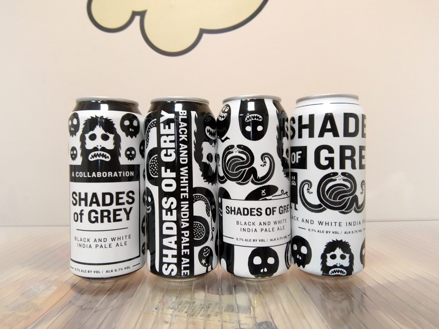 Cerveza Against the Grain - Magic Rock Shades of Grey