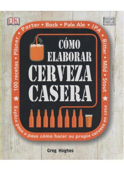 """Libro """"Cómo elaborar cerveza casera"""""""