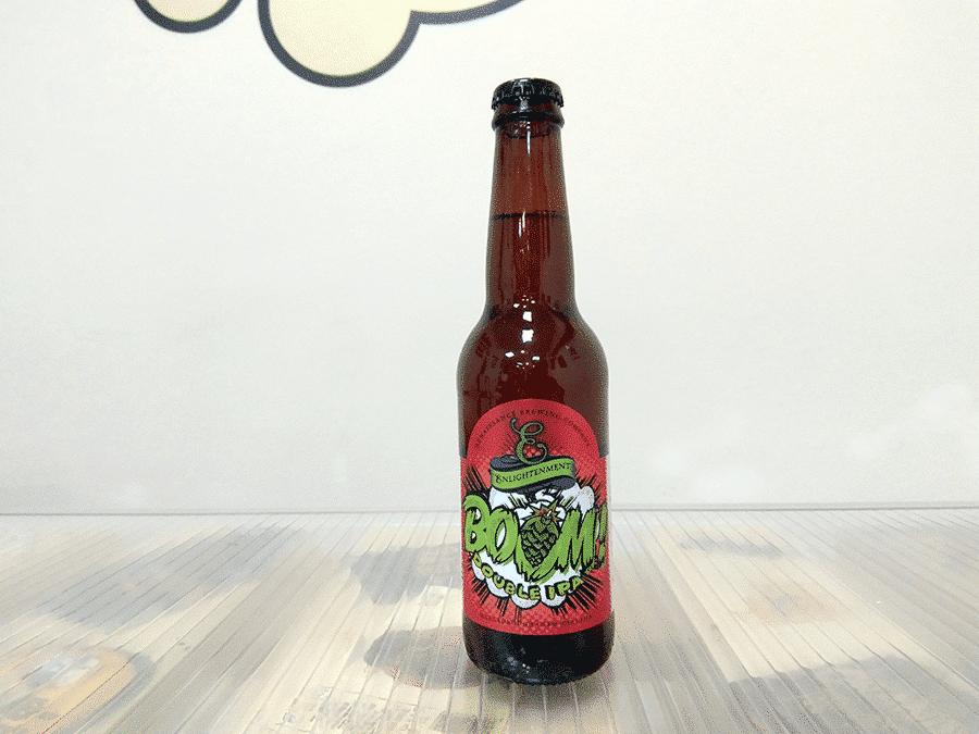 Botella de Cerveza neozelandesa Renaissance Boom Double IPA