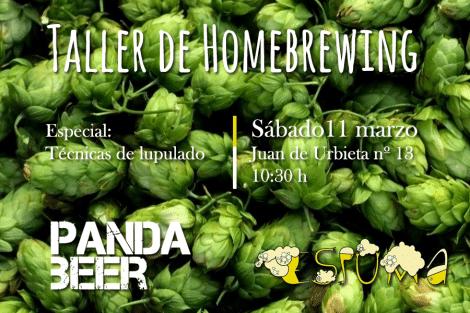 Taller de elaboración de cerveza casera - 11 de marzo