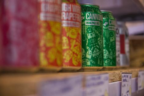 Cervezas artesanas en lata
