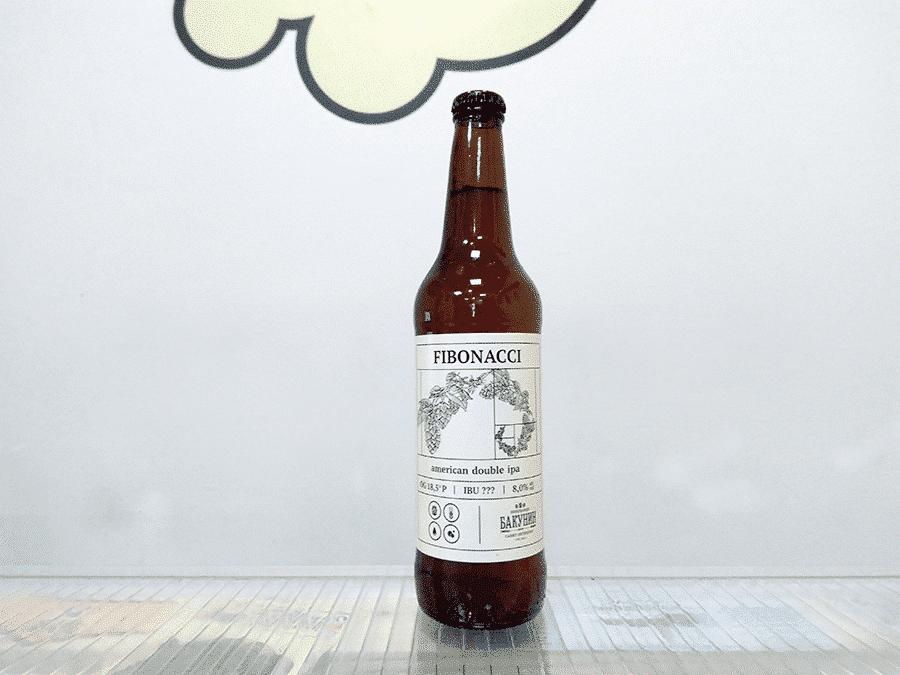 Cerveza Bakunin Fibonacci -Double IPA