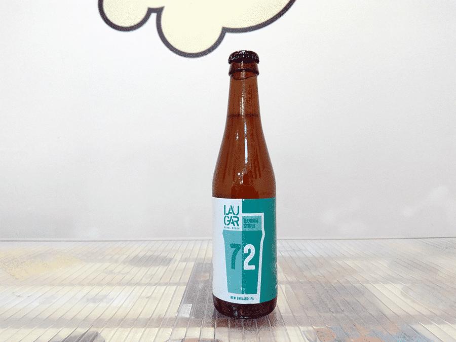 Cerveza Laugar Random Series 72 - New England IPA