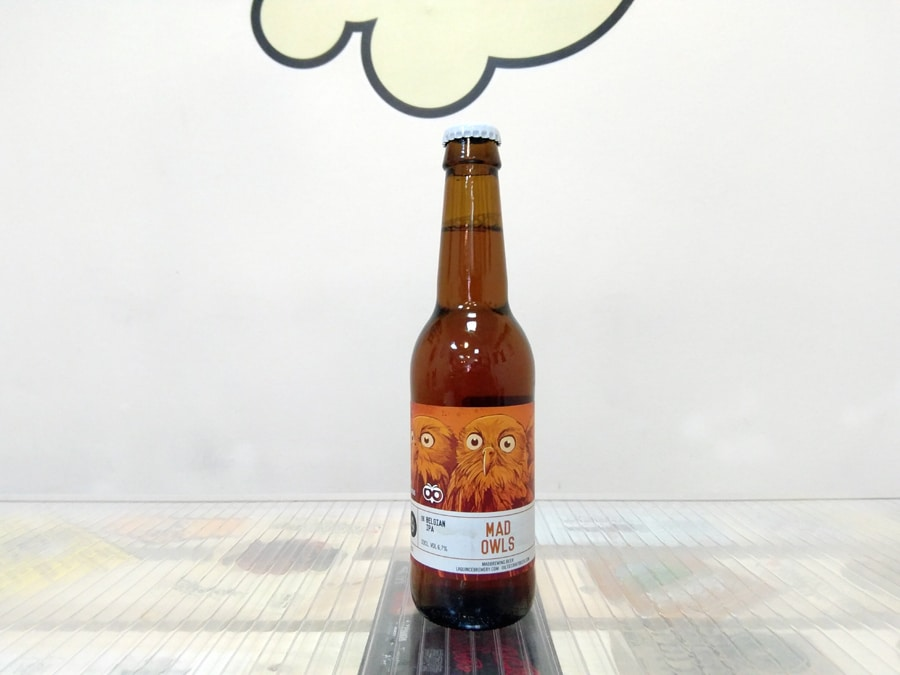 Cerveza Mad-Brewing - La-Quince - Het Uiltje Mad Owls