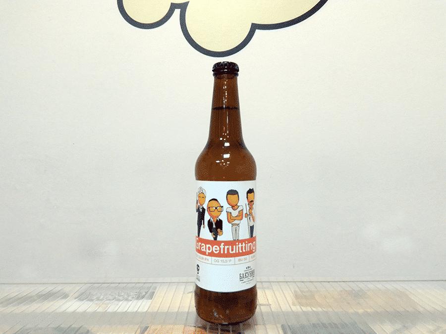 Cerveza Bakunin - La Pirata Grapefruitting