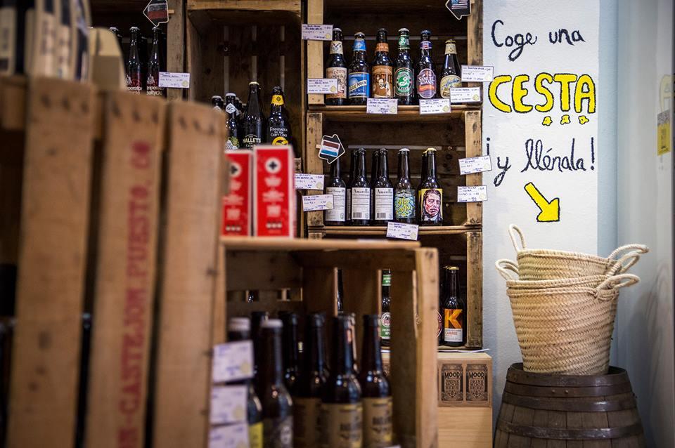 Cervezas fecha de caducidad en estantería