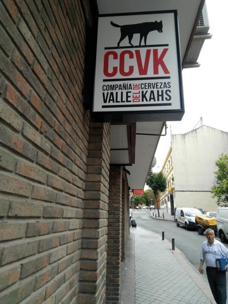 Entrada de Compañía de Cervezas Valle del Kahs