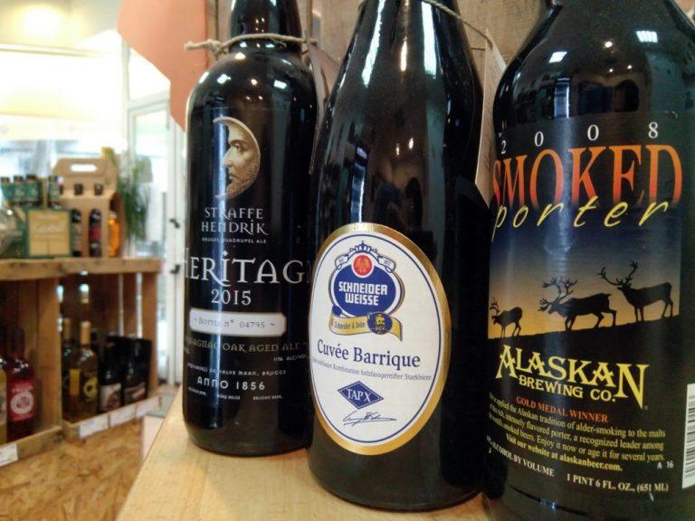 Cervezas de reserva envejecidas