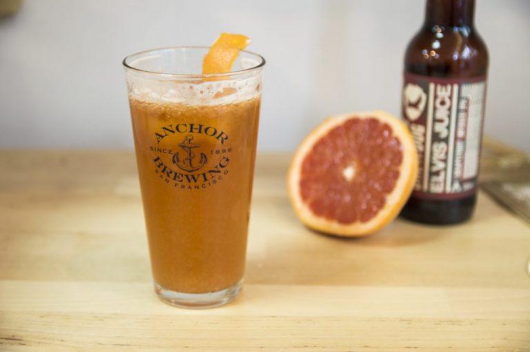 Cóctel de cerveza Beer Mimosa