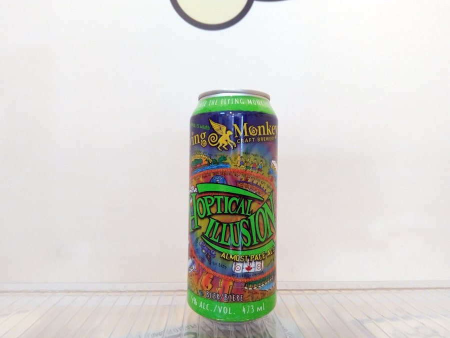 Cerveza Flying Monkeys Hoptical Illusion