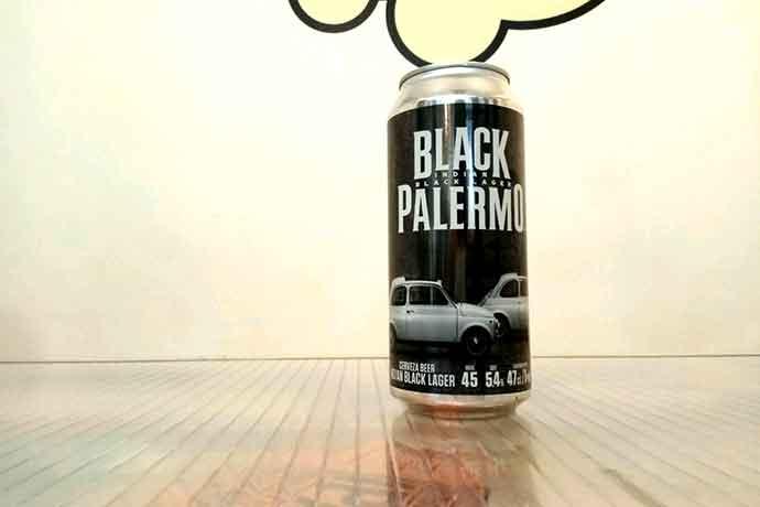 Lata 47 cl de Cerveza Four Lions Black Palermo