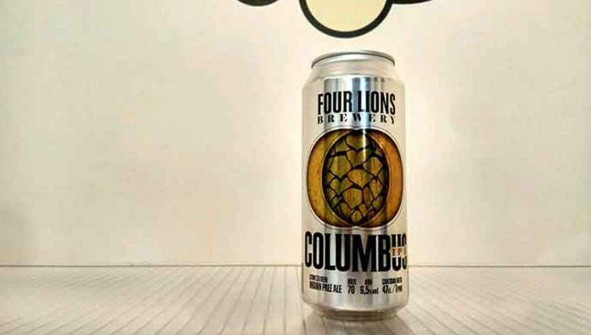 Four Lions Columbus IPA - Lata