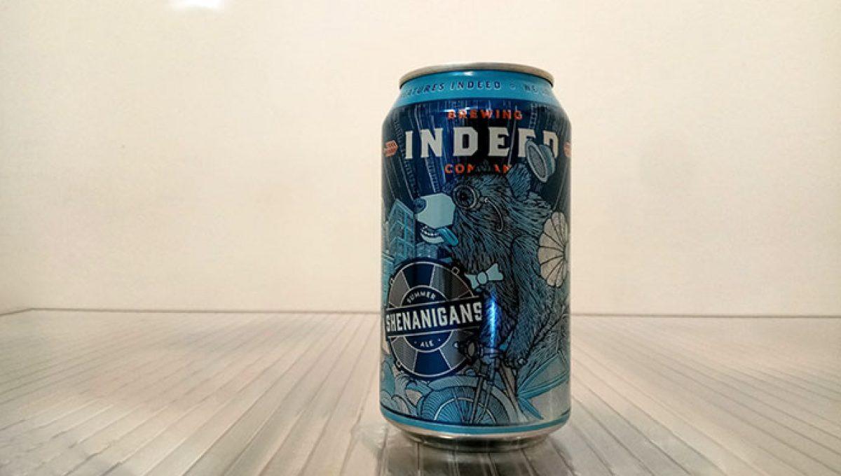 Indeed Shenanigans Summer Ale
