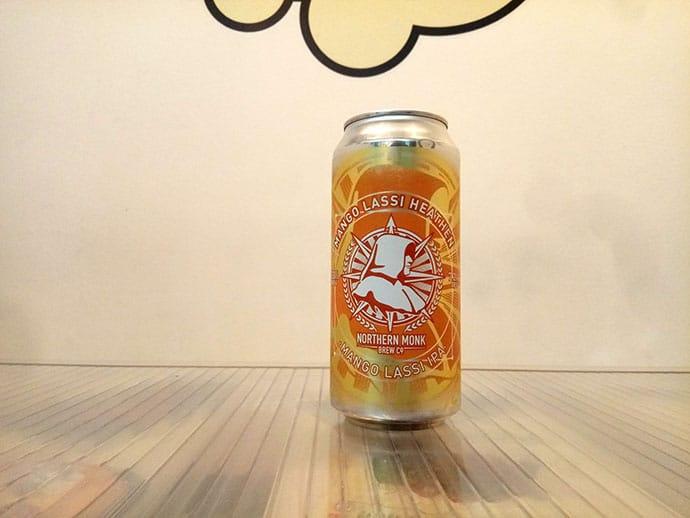 Lata de cerveza Northern Monk Mango Lassi Heathen IPA