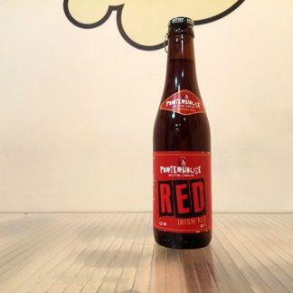 Botella de Cerveza Porterhouse Red Ale