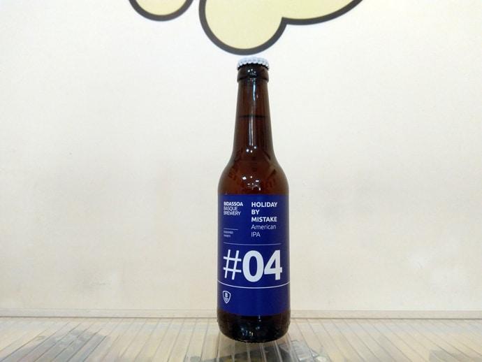 Cerveza Bidassoa #04 Holiday By Mistake