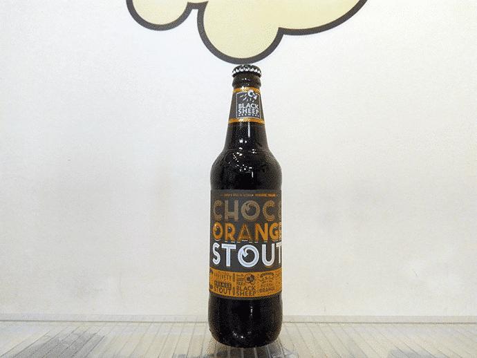 Cerveza Black Sheep Choc & Orange