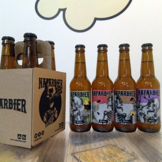 Pack de 4 cervezas Naparbier KILL SANTA