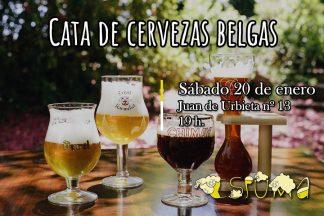 Cata para aprender a sobre los diferentes estilos de cerveza belga