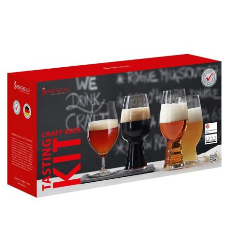 Spiegelau Tasting Kit 4 vasos Craft