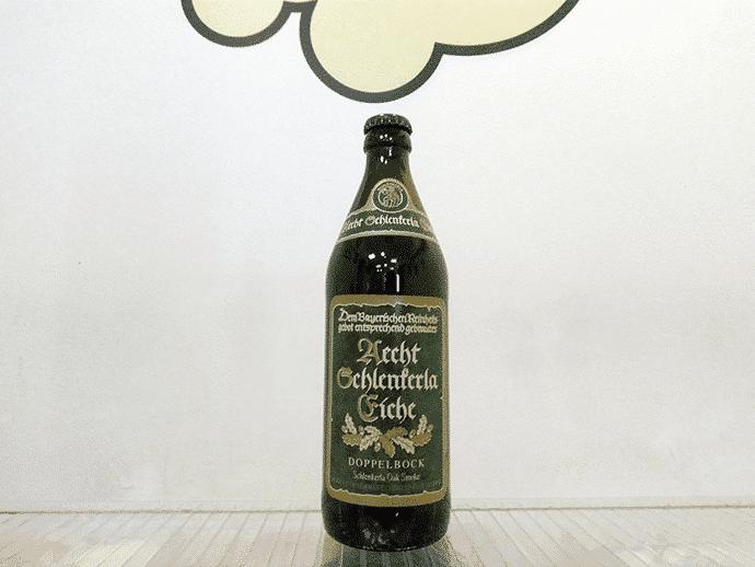 Cerveza Aech Schlenkerla Eiche Doppelbock
