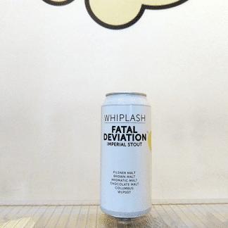 Cerveza Whiplash Fatal Deviation