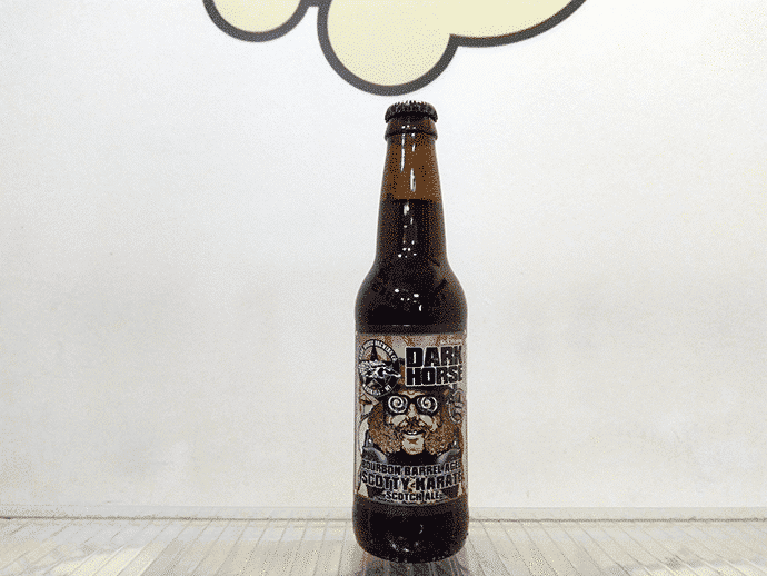 Cerveza Dark Horse Bourbon Barrel Aged Scotty Karate