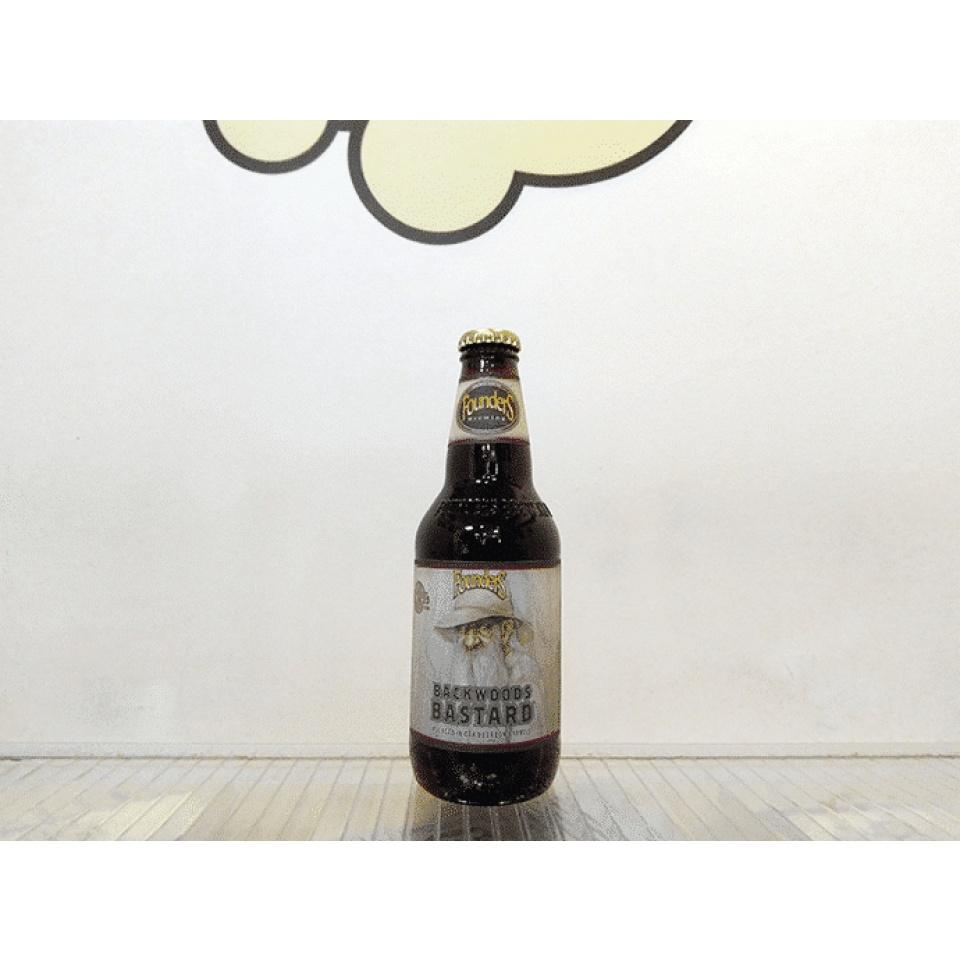 Cerveza Founders Backwoods Bastard