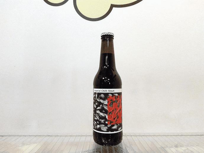 Cerveza Nómada Imperial Chili Stout