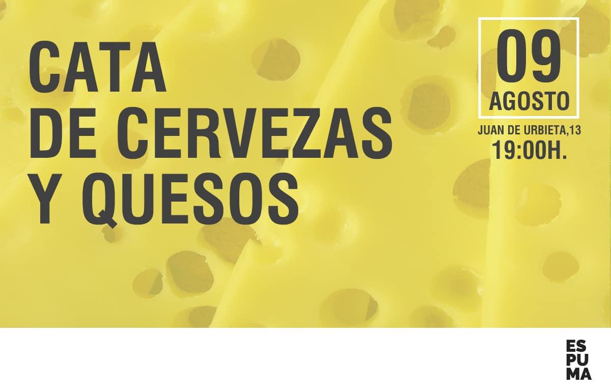 CATA DE CERVEZAS Y QUESOS
