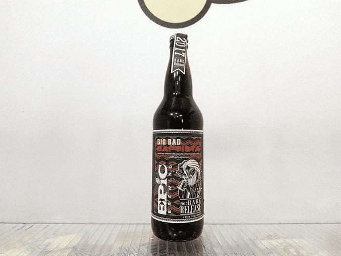 Cerveza Epic Big Bad Baptista 2017