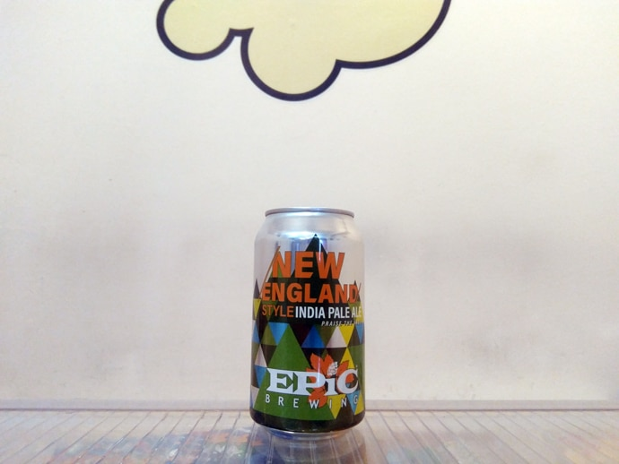 Cerveza Epic New England Style IPA Praise the Haze