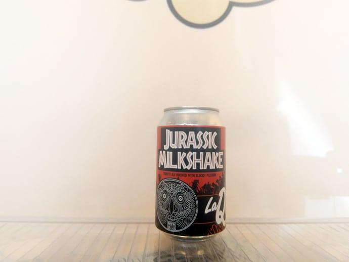 Cerveza La Quince Jurassic Milkshake