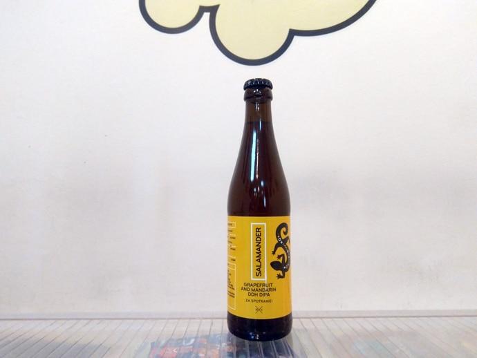 Cerveza Stu Mostow Salamander Grapefruit & Mandarin DDH DIPA