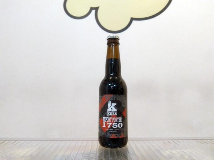 Cerveza Kees Export Porter 1750