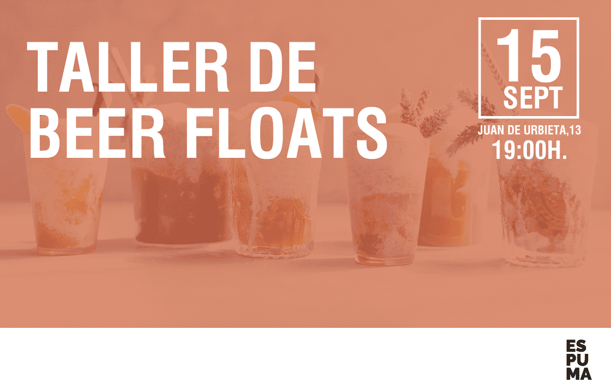 TALLER DE BEER FLOATS SEPTIEMBRE 18