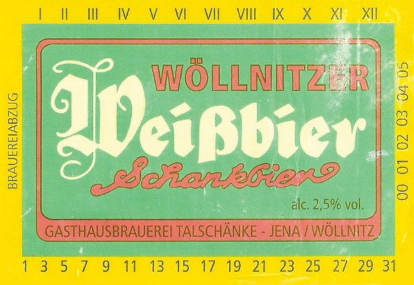 Cerveza Wöllnitzer Weissbier