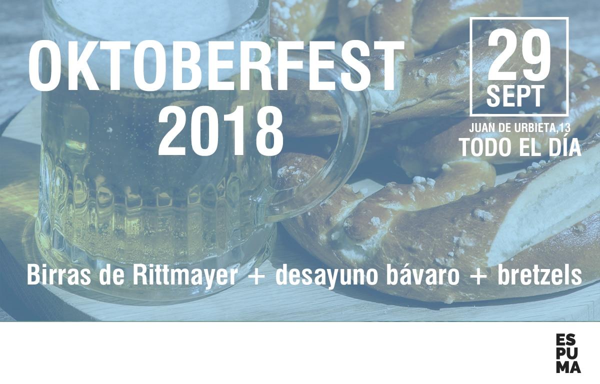 OKTOBERFEST 2018 en ESPUMA