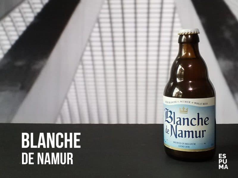 Botella de Cerveza Blanche de Namur