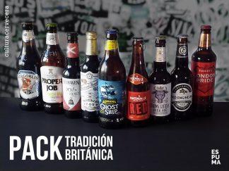 Pack Tradición britanica - 9 cervezas británicas