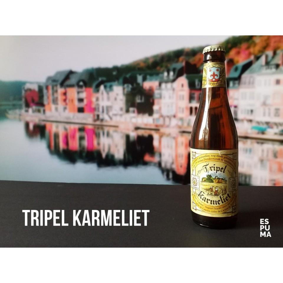 Botella deCerveza Tripel Karmeliet