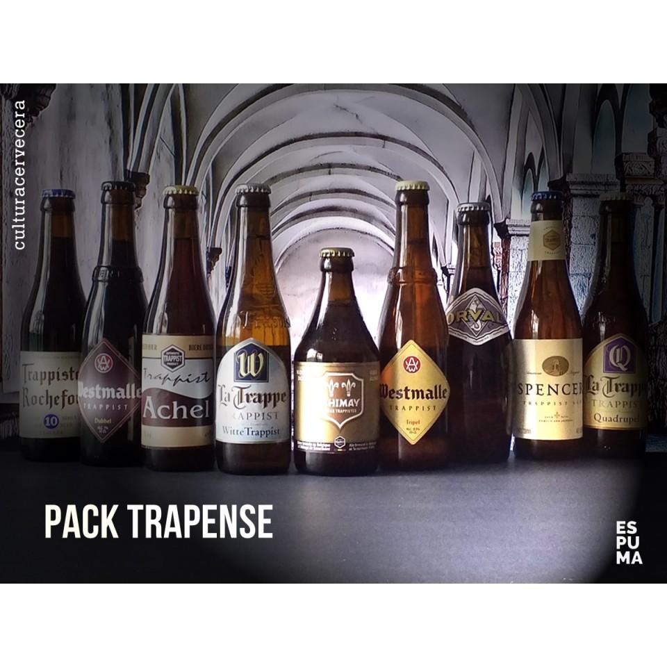 Pack de 9 cervezas trapenses