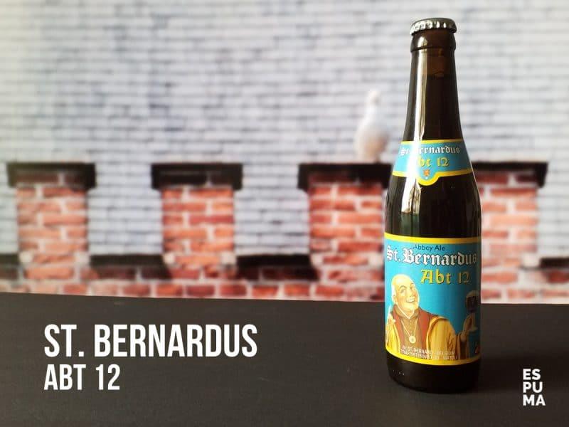 Botella Cerveza St. Bernardus 12