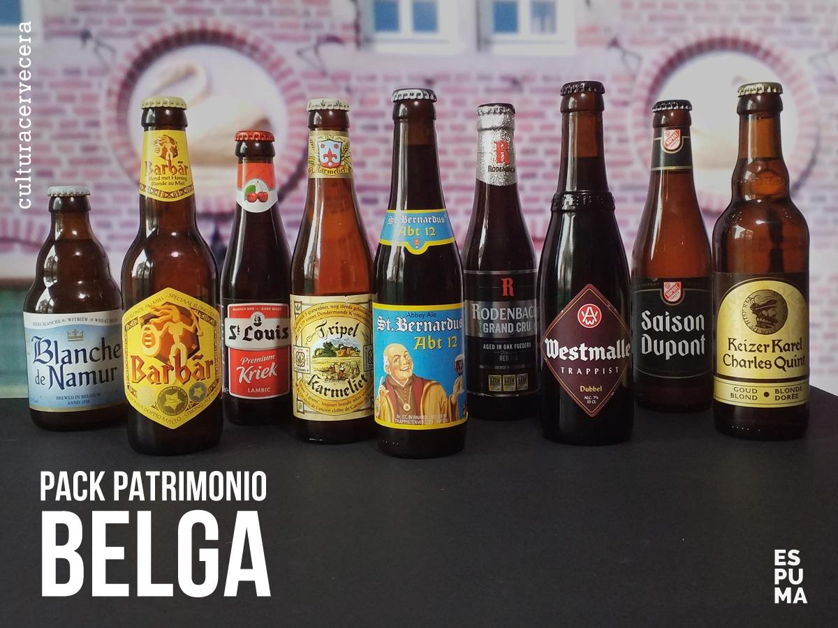 Pack Patrimonio Belga - 9 cervezas de bélgica