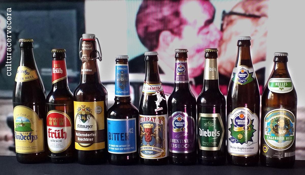 Las mejores cervezas alemanas clásicas