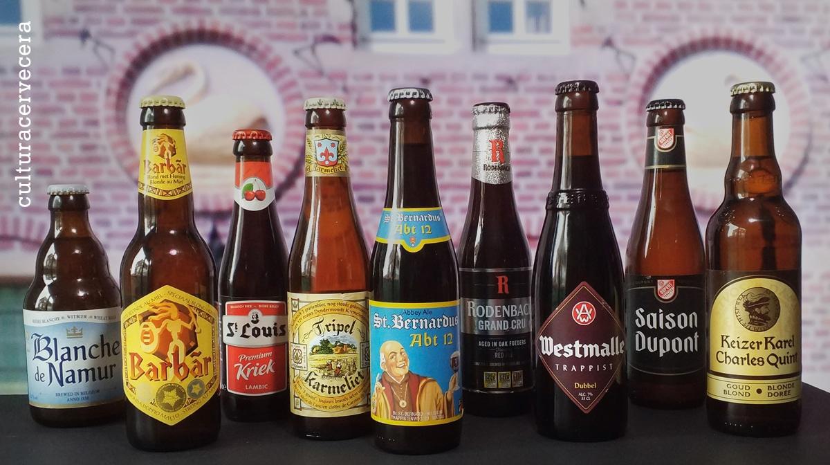 Pack de 9 cervezas belgas