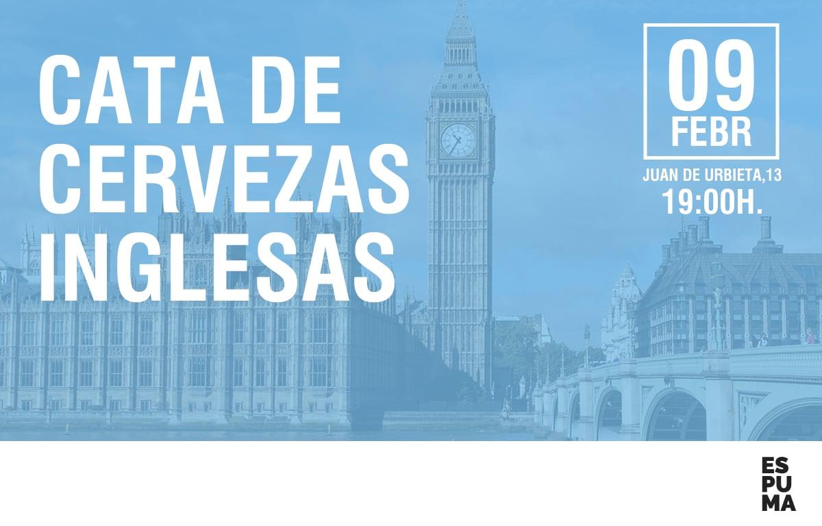 CATA DE CERVEZAS INGLESAS