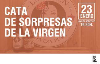 cata de cervezas sorpresa de la virgen