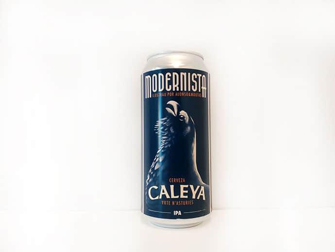 Cerveza Caleya Modernista